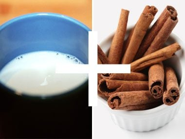 11. Warm milk + cinnamon and spices = a cozy nighttime beverage