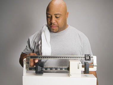 healthy habits weight control quiz, scale