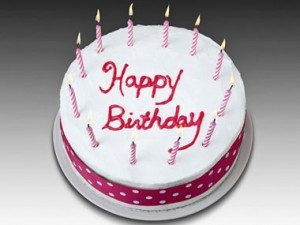 history of happiness, birthday cake