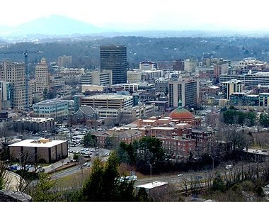 10. Asheville, North Carolina