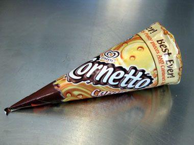 Ice Cream Cone Panini