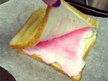 toastie project cotton candy