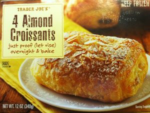 Trader Joe's almond croissants