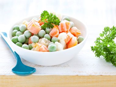 4. Frozen vegetables