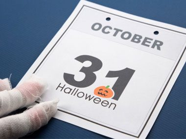 Buy candy the day of or before Halloween.