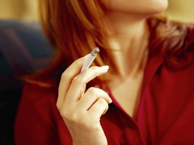 Cigarettes not only increase cancer risks—they make breasts less perky.