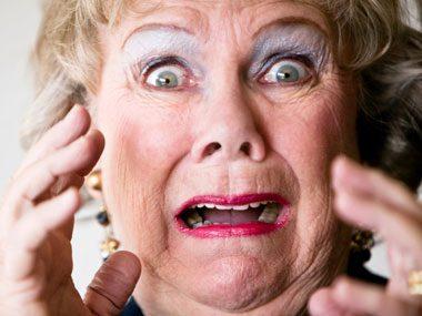 Image result for shocked older woman