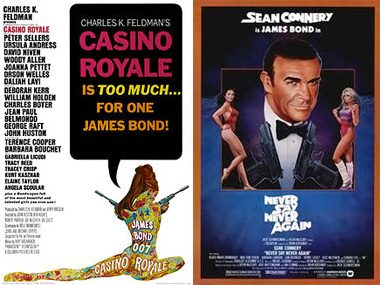 "Two of the Bond movies are actually ""indie"" flicks."