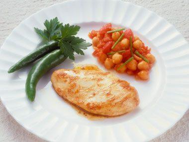 diet traps, chicken portion