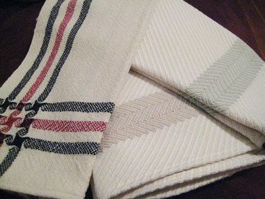 homemade gift ideas, dish towels