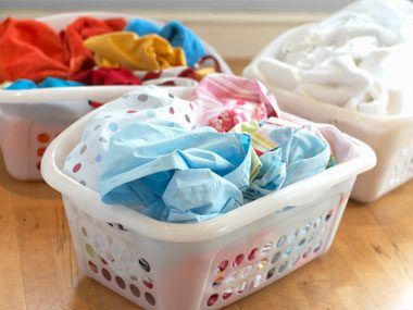 how germ experts stay healthy, laundry