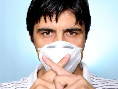 how germ experts stay healthy, mask