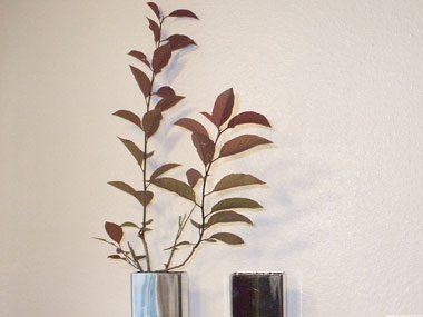 make a fall centerpiece, branches