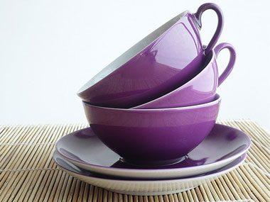 make a fall centerpiece, tea cups