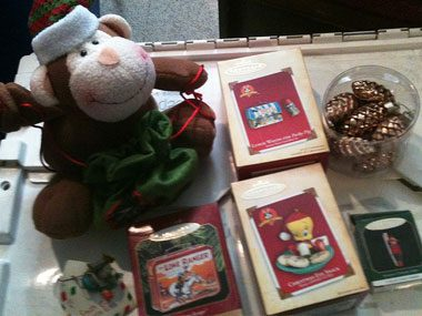ornament storage tips, original boxes