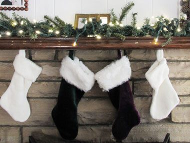 ornament storage tips, mantle display