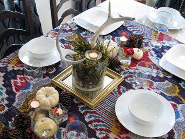 Idea 1: Invest in classic white dishes