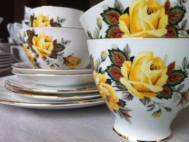 Idea 2: Or pull out your vintage china