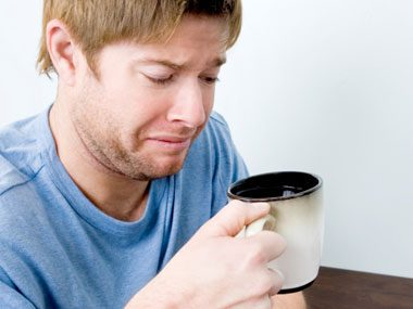 Why does room-temperature coffee taste so bad?
