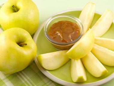 Salted Caramel Apple Dip