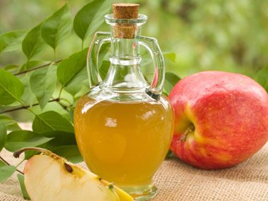 Apple cider vinegar kills the poison.