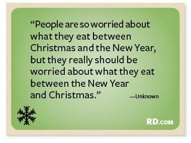 Unknown With A Funny Christmas Quote