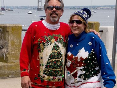 Ugly Christmas Sweater Tourists