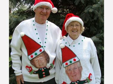 True Love in Ugly Christmas Sweaters