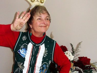 Miss Ugly Christmas Sweater