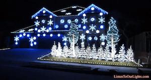 Holiday Lights, 'Gangnam Style'