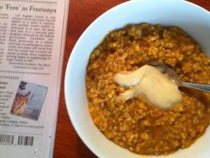 cereal newspaper