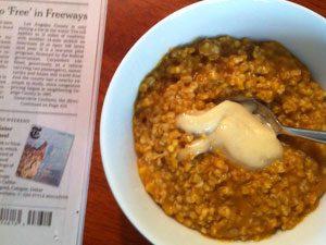 cereal newspaper