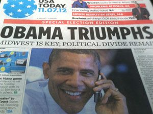 USA Today frontpage