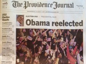 Providence Journal frontpage