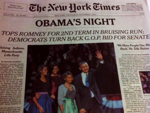 NY Times frontpage