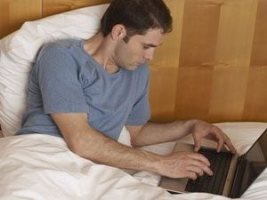 Trouble Sleeping? Turn Off Your Gadgets!