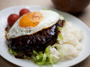 If you're in Hawaii, you might find: Loco Moco