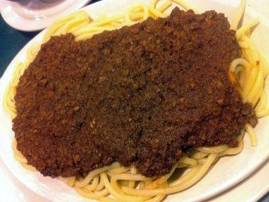If you're in Cincinnati, OH, you might find: Skyline Chili