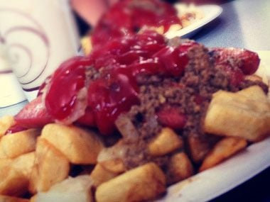 If you're in Upstate New York, you might find: a Garbage Plate