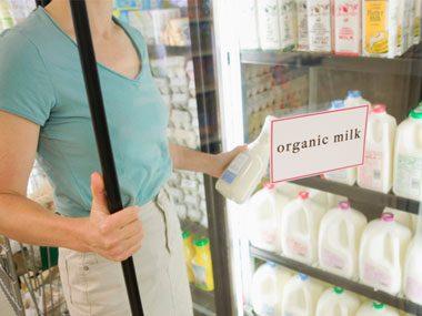 78% of U.S. families buy some organic food.
