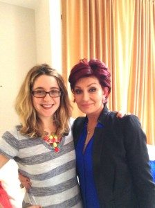 Sharon Osbourne and Perri O. Blumberg