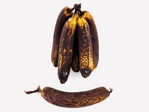Banana peels are a rosebush's best friend.