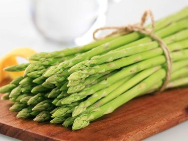 If a TV chef is going to do a recipe that calls for a pound of asparagus, we'll have four pounds on the set, just in case of retakes or swapouts.
