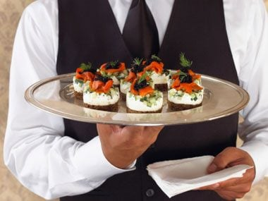 6. Passed appetizers?