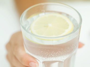 9. Make the first round a seltzer with lemon.