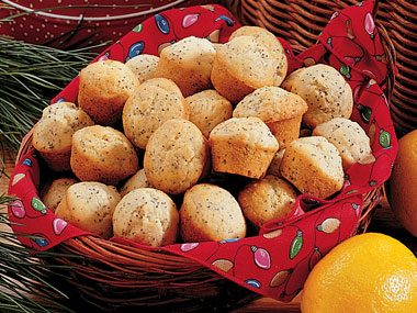 Poppyseed Mini Muffins