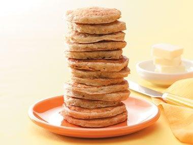 Silver Dollar Oat Pancakes