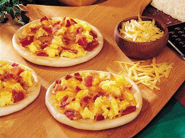 Sunrise Mini Pizzas