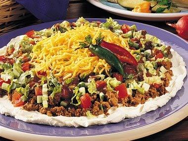 Barbeque Taco Dip