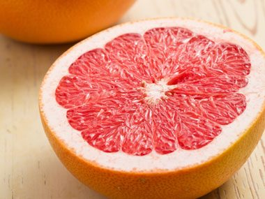 Grapefruit Zest and Juice
